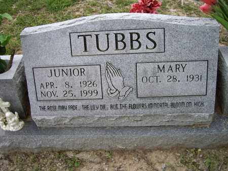 TUBBS, JUNIOR - Lawrence County, Arkansas | JUNIOR TUBBS - Arkansas Gravestone Photos