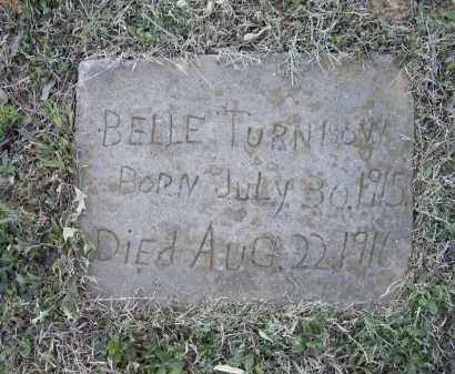 TURNBOW, BELLE - Lawrence County, Arkansas | BELLE TURNBOW - Arkansas Gravestone Photos