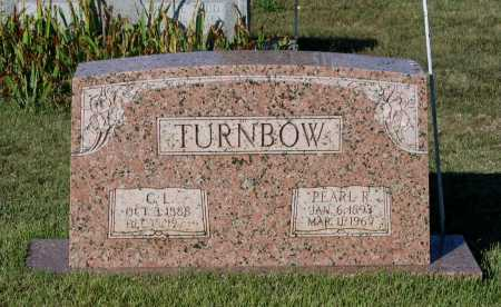 RUDY TURNBOW, PEARL - Lawrence County, Arkansas | PEARL RUDY TURNBOW - Arkansas Gravestone Photos