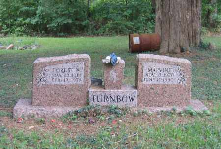 TURNBOW, FOREST N. - Lawrence County, Arkansas | FOREST N. TURNBOW - Arkansas Gravestone Photos