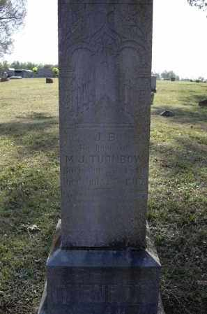 "TURNBOW (VETERAN CSA), JOHN BENJAMIN ""J. B."" - Lawrence County, Arkansas 