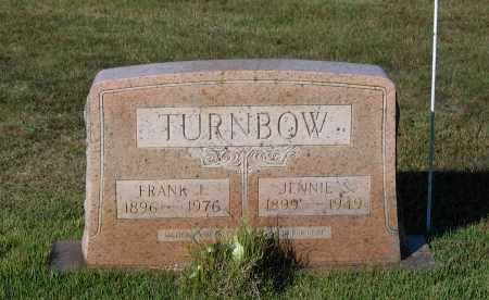 "SPOTTS TURNBOW, MARTHA VIRGINIA ""JENNIE"" - Lawrence County, Arkansas 