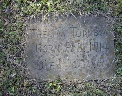 TURNBOW, THELMA - Lawrence County, Arkansas | THELMA TURNBOW - Arkansas Gravestone Photos