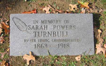 POWERS TURNBULL, SARAH - Lawrence County, Arkansas | SARAH POWERS TURNBULL - Arkansas Gravestone Photos