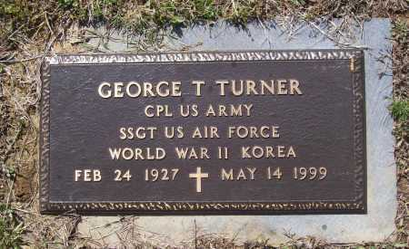 TURNER (VETERAN 2 WARS), GEORGE T. - Lawrence County, Arkansas | GEORGE T. TURNER (VETERAN 2 WARS) - Arkansas Gravestone Photos