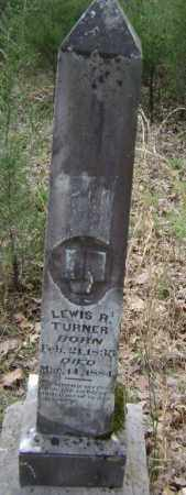 TURNER, LEWIS R. - Lawrence County, Arkansas | LEWIS R. TURNER - Arkansas Gravestone Photos
