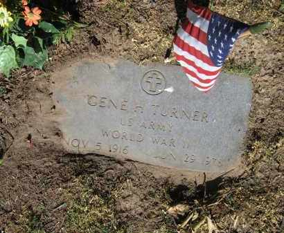 TURNER (VETERAN WWII), GENE H. - Lawrence County, Arkansas | GENE H. TURNER (VETERAN WWII) - Arkansas Gravestone Photos