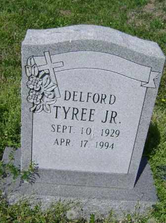 TYREE, JR., DELFORD F. - Lawrence County, Arkansas | DELFORD F. TYREE, JR. - Arkansas Gravestone Photos