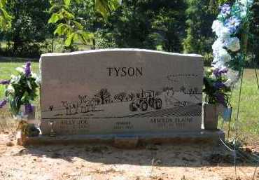 TYSON, BILLY JOE - Lawrence County, Arkansas | BILLY JOE TYSON - Arkansas Gravestone Photos