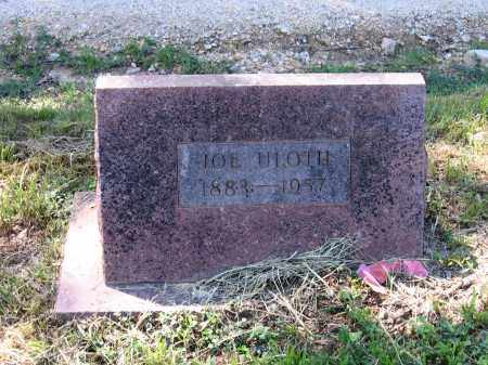 ULOTH, JOE - Lawrence County, Arkansas | JOE ULOTH - Arkansas Gravestone Photos
