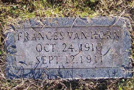 VAN HORN, FRANCES - Lawrence County, Arkansas | FRANCES VAN HORN - Arkansas Gravestone Photos