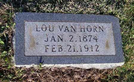 "VAN HORN, LUCRETIA ""LOU"" - Lawrence County, Arkansas | LUCRETIA ""LOU"" VAN HORN - Arkansas Gravestone Photos"