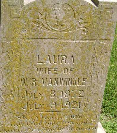 VANWINKLE, LAURA - Lawrence County, Arkansas | LAURA VANWINKLE - Arkansas Gravestone Photos
