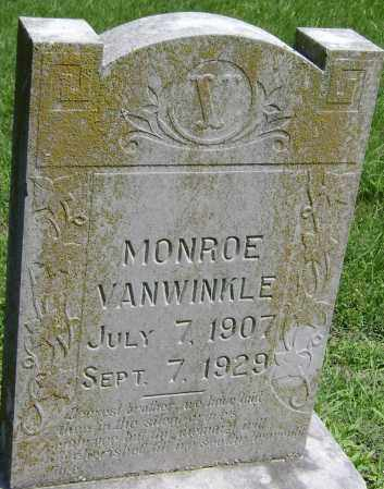 VANWINKLE, MONROE - Lawrence County, Arkansas | MONROE VANWINKLE - Arkansas Gravestone Photos
