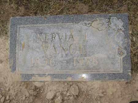 VANCE, NERVIA ELIZABETH I. - Lawrence County, Arkansas | NERVIA ELIZABETH I. VANCE - Arkansas Gravestone Photos
