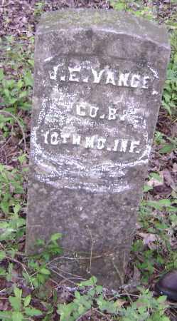 VANCE (VETERAN UNION), J. E. - Lawrence County, Arkansas | J. E. VANCE (VETERAN UNION) - Arkansas Gravestone Photos