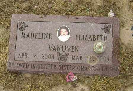 VANOVEN, MADELINE ELIZABETH - Lawrence County, Arkansas | MADELINE ELIZABETH VANOVEN - Arkansas Gravestone Photos