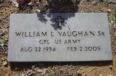 "VAUGHAN, SR. (VETERAN), WILLIAM L.""DUB"" - Lawrence County, Arkansas 