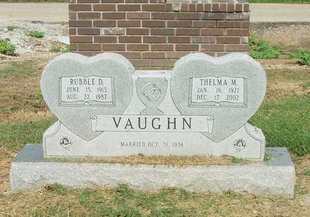 VAUGHN, RUBBLE D. - Lawrence County, Arkansas | RUBBLE D. VAUGHN - Arkansas Gravestone Photos