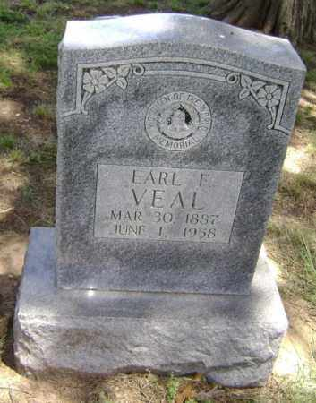 VEAL, EARL FRANKLIN - Lawrence County, Arkansas | EARL FRANKLIN VEAL - Arkansas Gravestone Photos
