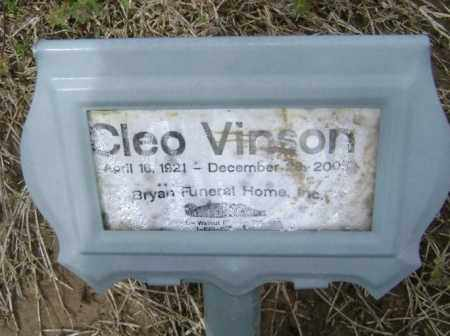 VINSON, CLEO - Lawrence County, Arkansas | CLEO VINSON - Arkansas Gravestone Photos