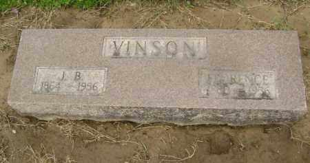 "VINSON, JAMES BRENTON ""J. B."" - Lawrence County, Arkansas 