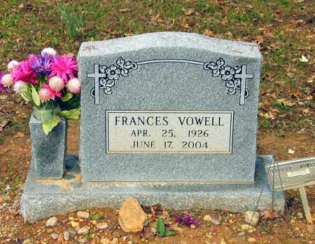 VOWELL, NELLIE FRANCES - Lawrence County, Arkansas | NELLIE FRANCES VOWELL - Arkansas Gravestone Photos