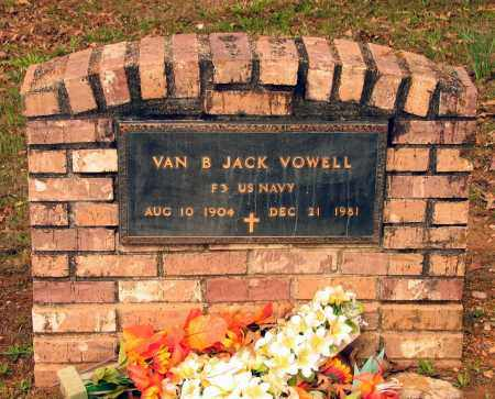 "VOWELL (VETERAN), MARTIN VAN BUREN ""JACK"" - Lawrence County, Arkansas | MARTIN VAN BUREN ""JACK"" VOWELL (VETERAN) - Arkansas Gravestone Photos"