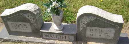CHASTAIN WADDELL, LUCILLE W. - Lawrence County, Arkansas | LUCILLE W. CHASTAIN WADDELL - Arkansas Gravestone Photos