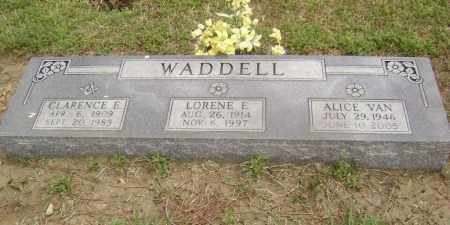 WADDELL, CLARENCE EDWARD - Lawrence County, Arkansas | CLARENCE EDWARD WADDELL - Arkansas Gravestone Photos