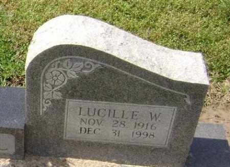 WADDELL, LUCILLE W. - Lawrence County, Arkansas | LUCILLE W. WADDELL - Arkansas Gravestone Photos