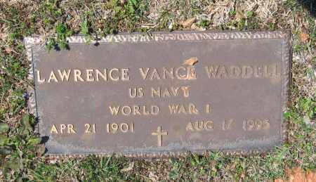 WADDELL, SR. (VETERAN WWI), LAWRENCE VANCE - Lawrence County, Arkansas | LAWRENCE VANCE WADDELL, SR. (VETERAN WWI) - Arkansas Gravestone Photos