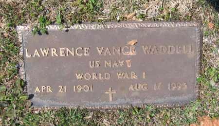 WADDELL, SR. (VETERAN WWI), LAWRENCE VANCE - Lawrence County, Arkansas | LAWRENCE VANCE WADDELL, SR. (VETERAN WWI) - Arkansas Gravestone Photos
