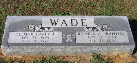 WADE, DELMAR CARLYLE - Lawrence County, Arkansas | DELMAR CARLYLE WADE - Arkansas Gravestone Photos