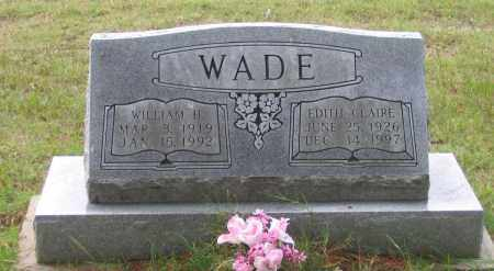 COCHRAN WADE, EDITH CLAIRE - Lawrence County, Arkansas | EDITH CLAIRE COCHRAN WADE - Arkansas Gravestone Photos