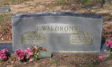 WALDRON, DEWITT J. - Lawrence County, Arkansas | DEWITT J. WALDRON - Arkansas Gravestone Photos