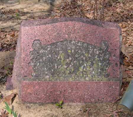 WALDRON, TAVNER ELIZABETH - Lawrence County, Arkansas | TAVNER ELIZABETH WALDRON - Arkansas Gravestone Photos
