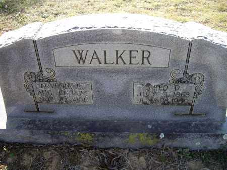 WALKER, LUVENIA EVELYN - Lawrence County, Arkansas | LUVENIA EVELYN WALKER - Arkansas Gravestone Photos