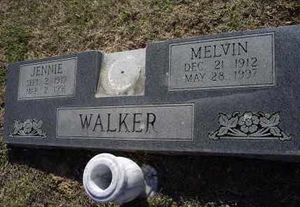 COLLINS WALKER, JENNIE RUTH - Lawrence County, Arkansas | JENNIE RUTH COLLINS WALKER - Arkansas Gravestone Photos