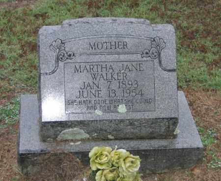 WALKER, MARTHA JANE - Lawrence County, Arkansas | MARTHA JANE WALKER - Arkansas Gravestone Photos