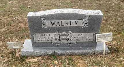 "WALKER, RAY CLAYTON ""STRAWBERRY"" - Lawrence County, Arkansas 