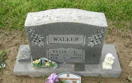 WALKER, VEDA L. - Lawrence County, Arkansas | VEDA L. WALKER - Arkansas Gravestone Photos