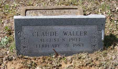 WALLER, CLAUDE ELMER - Lawrence County, Arkansas | CLAUDE ELMER WALLER - Arkansas Gravestone Photos