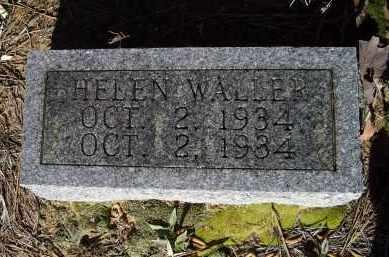 WALLER, HELEN - Lawrence County, Arkansas   HELEN WALLER - Arkansas Gravestone Photos