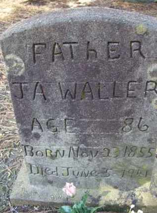 WALLER, JESSE AMOS - Lawrence County, Arkansas | JESSE AMOS WALLER - Arkansas Gravestone Photos
