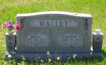 WALLEY, DOYLE - Lawrence County, Arkansas | DOYLE WALLEY - Arkansas Gravestone Photos