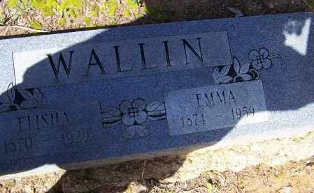HALL WALLIN, EMMA - Lawrence County, Arkansas | EMMA HALL WALLIN - Arkansas Gravestone Photos