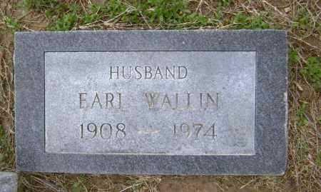 WALLIN, EARL EDWARD - Lawrence County, Arkansas | EARL EDWARD WALLIN - Arkansas Gravestone Photos