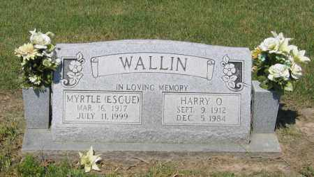 WALLIN, MYRTLE - Lawrence County, Arkansas | MYRTLE WALLIN - Arkansas Gravestone Photos