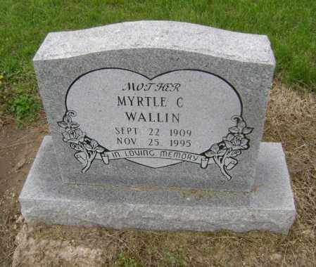 WALLIN, MYRTLE C. - Lawrence County, Arkansas | MYRTLE C. WALLIN - Arkansas Gravestone Photos
